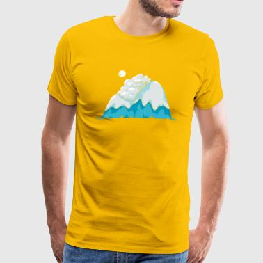 Cozy Mountain - Men's Premium T-Shirt