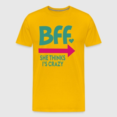 Bff She Thinks - Men's Premium T-Shirt
