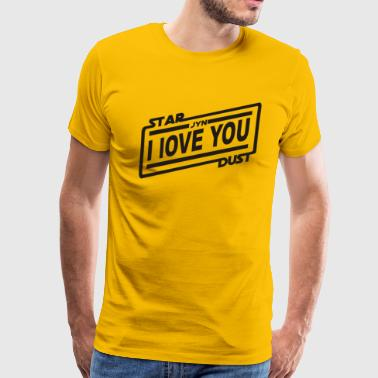 I Love You Stardust - Men's Premium T-Shirt