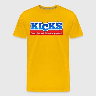 KICKS - Men's Premium T-Shirt