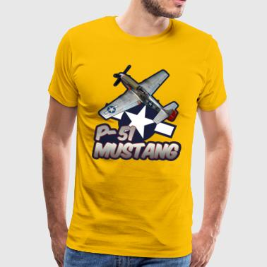 P-51 Mustang tribute - Men's Premium T-Shirt