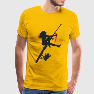 Sexy Fishing - Men's Premium T-Shirt
