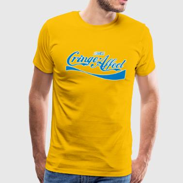 Cringe Cola Mash-Up Blue - Men's Premium T-Shirt