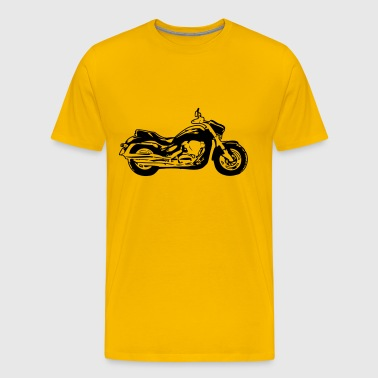 motorcycle chopper - Men's Premium T-Shirt