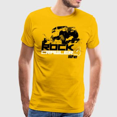 Rock Crawler 4 Life - Men's Premium T-Shirt