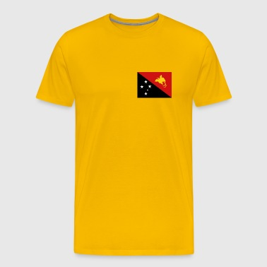 Papua New Guinea Flag - Men's Premium T-Shirt