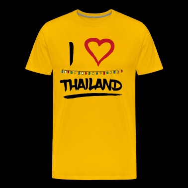 I love Thailand - Men's Premium T-Shirt