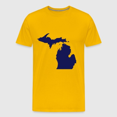 state of Michigan - Men's Premium T-Shirt