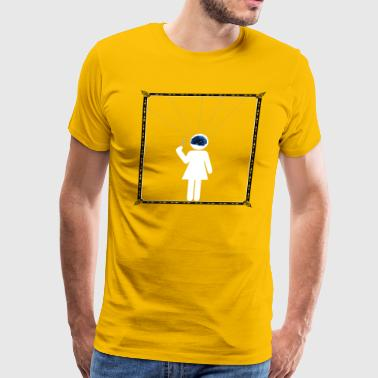 The puppet - Men's Premium T-Shirt