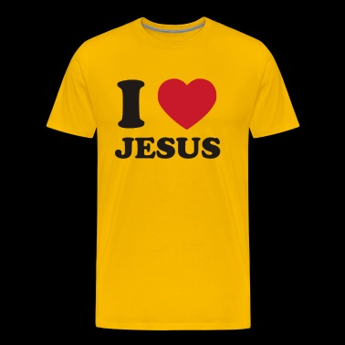 I Heart Jesus Funny Christmas - Men's Premium T-Shirt