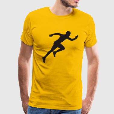Professional Runner - Men's Premium T-Shirt