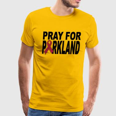 Pray for Parkland Florida T-shirts - Men's Premium T-Shirt