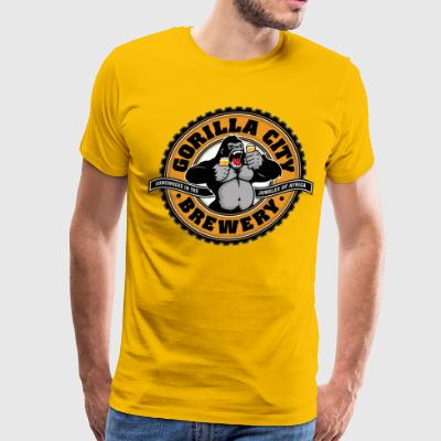 Gorilla City Brewery - Men's Premium T-Shirt