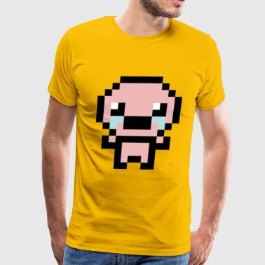 The Binding of Isaac Pixel Style - Men's Premium T-Shirt