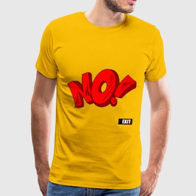 NO - Men's Premium T-Shirt