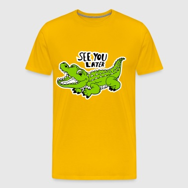 Alligator - Men's Premium T-Shirt
