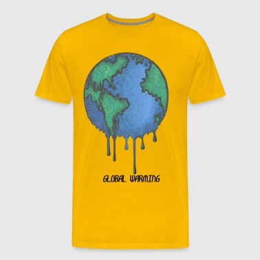 Earth Day Stop Global Warming - Men's Premium T-Shirt