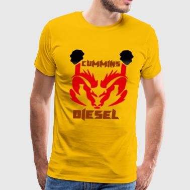 CUMMINS DIESEL - Men's Premium T-Shirt