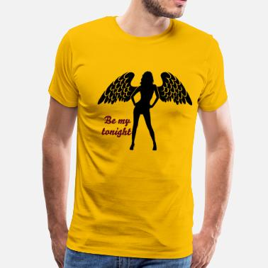 Porn Dancing Angel Girl 3 - Men's Premium T-Shirt