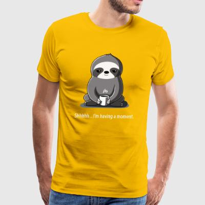 Slow Morning - Men's Premium T-Shirt