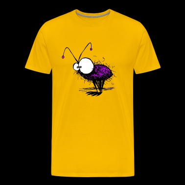 funny mayfly mosquito illustration - Men's Premium T-Shirt