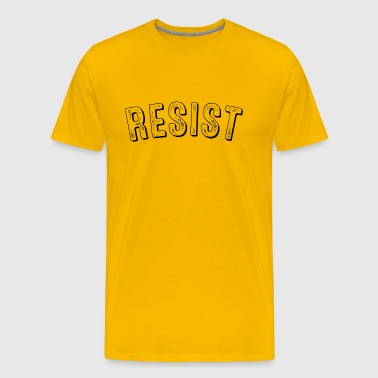 Resist Vintage Retro - Men's Premium T-Shirt