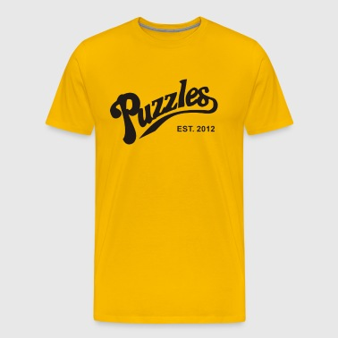 Puzzles bar - Men's Premium T-Shirt