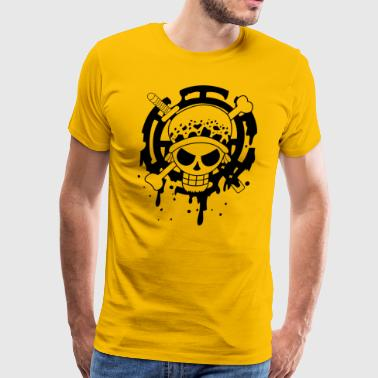 Trafalgar Law Logo - Men's Premium T-Shirt