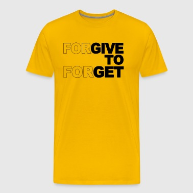 Forgive to forgive - Men's Premium T-Shirt