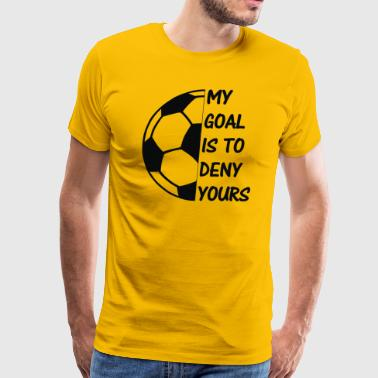 soc is my goal - Men's Premium T-Shirt