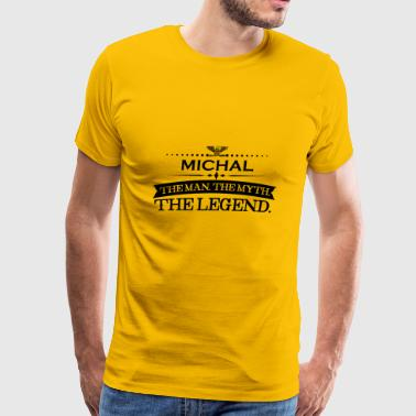 Mann mythos legende geschenk Michal - Men's Premium T-Shirt
