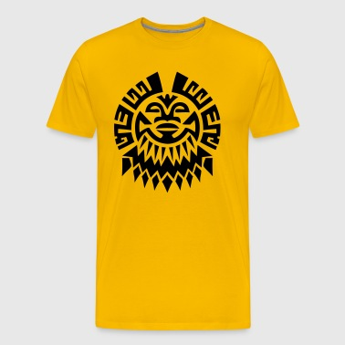 Mayan Tribal Symbol - Men's Premium T-Shirt