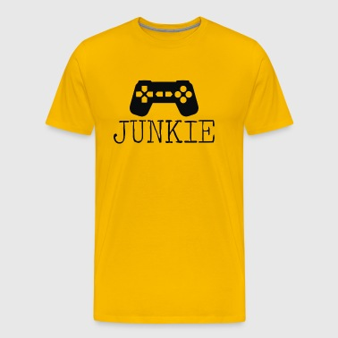Junkie Gamer - Men's Premium T-Shirt
