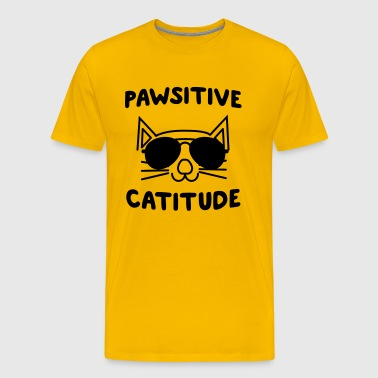 Pawsitive Catitude - Men's Premium T-Shirt
