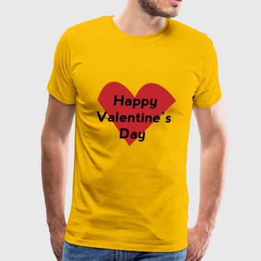 Happy Valentine's Day - Men's Premium T-Shirt