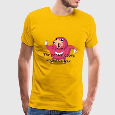 De way meme - Men's Premium T-Shirt