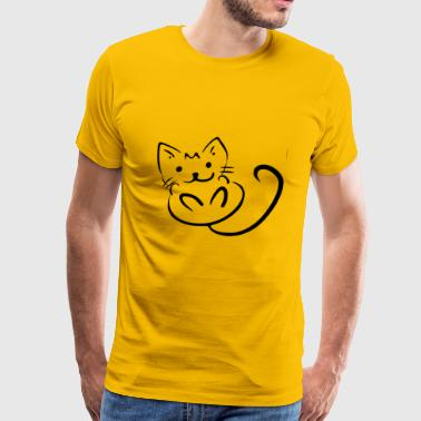 Animal Animals Cat Cats Cool Cats 2029245 - Men's Premium T-Shirt