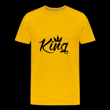 Born King - Men's Premium T-Shirt