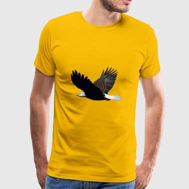 The flight of the golden eagle - Men's Premium T-Shirt