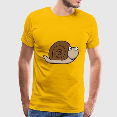 snail - Men's Premium T-Shirt