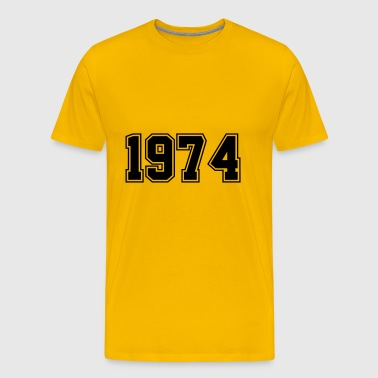 1974 | Birth Year | Year of Birth | Birthday - Men's Premium T-Shirt