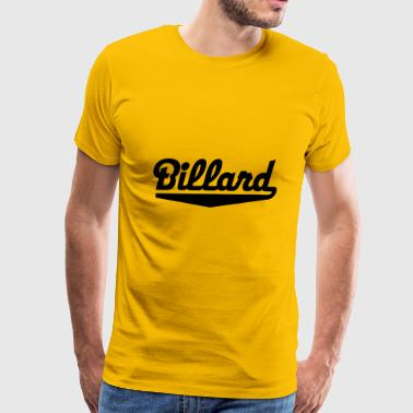 2541614 15743315 billard - Men's Premium T-Shirt