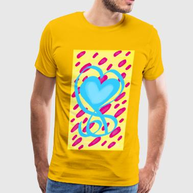 Pansexual Pride Design - Men's Premium T-Shirt