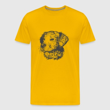 Golden Retriever - Men's Premium T-Shirt