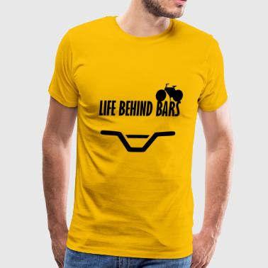life behind bars - Men's Premium T-Shirt