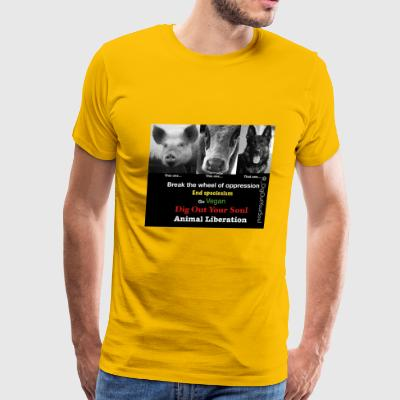 antispeciesist - Men's Premium T-Shirt