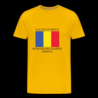 Romania Bucharest LDS Mission Called to Serve - Men's Premium T-Shirt