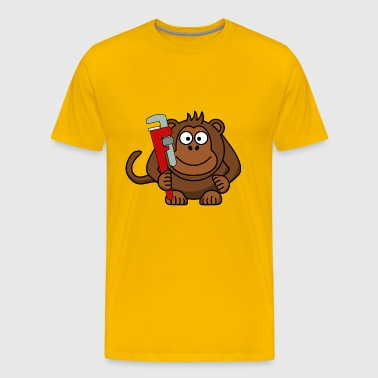 Monkey Cool - Men's Premium T-Shirt