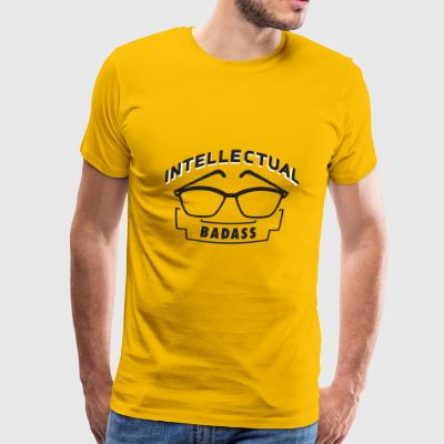 Intellectual BADASS - Men's Premium T-Shirt