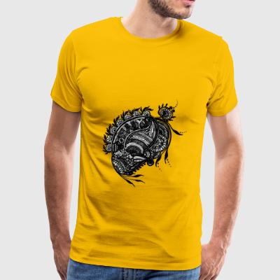 Sri Lanka Design - Men's Premium T-Shirt